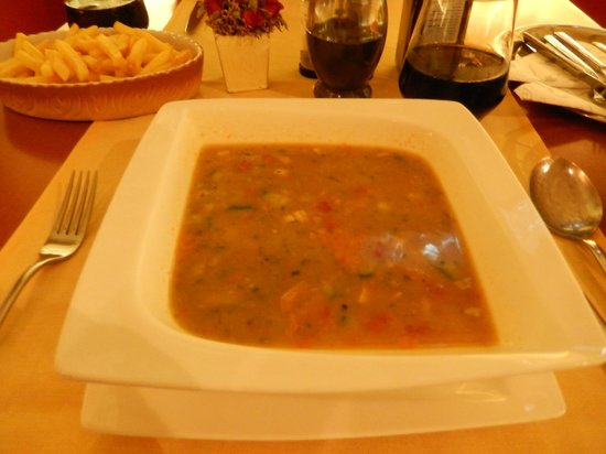 Restaurant Kantina Pula: Vegetable soup