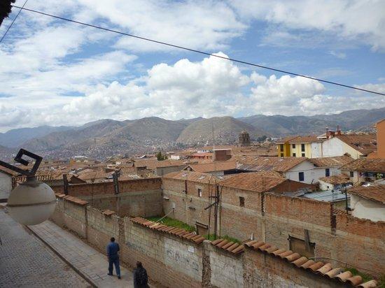 Siete Ventanas Hotel: Vista desde el balcón