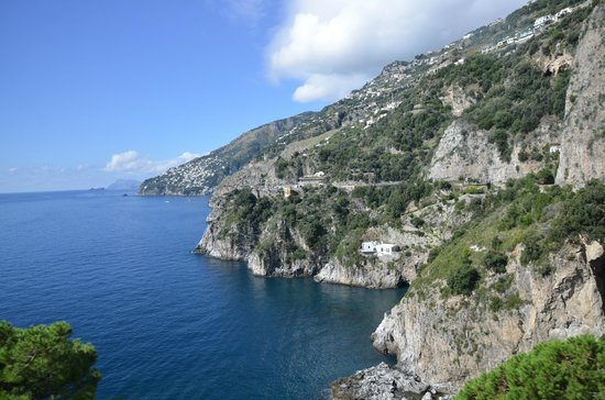 Sorrento House Travel : A view looking back to where we came from