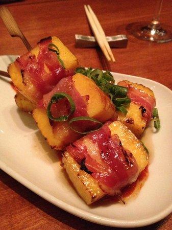 Ki Modern Japanese + Bar : Pancetta wrapped Tamago
