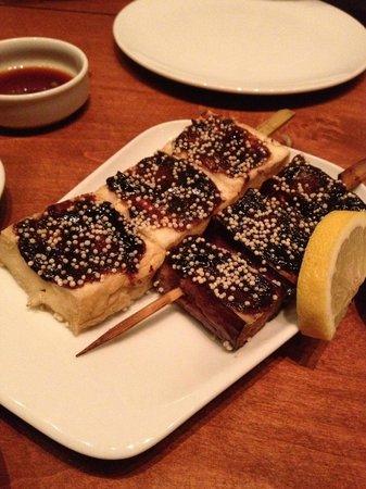 Ki Modern Japanese + Bar : Tofu and Eggplant with Miso Paste