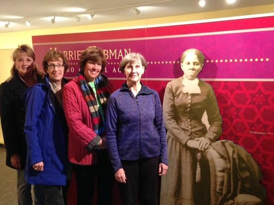 Harriet Tubman Home: In the Visitor Center