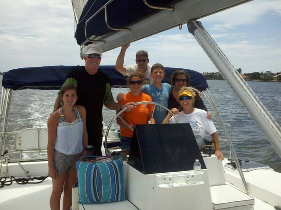 Sarasota, FL: At the helm