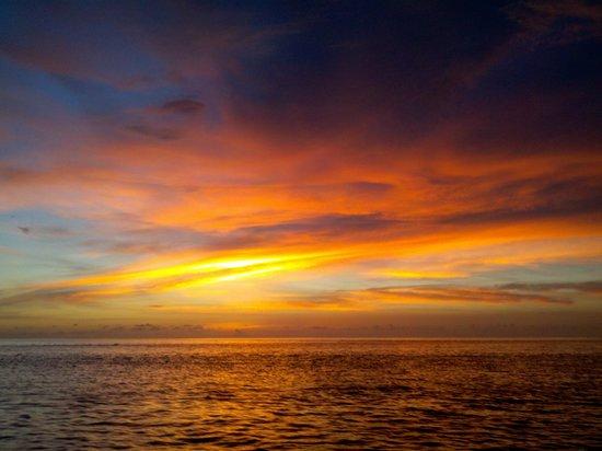 Sarasota, FL: Sunset over Gulf