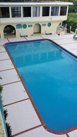 Parador Vistamar: La piscina de show