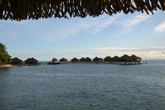 Royal Huahine : Villas sur pilotis