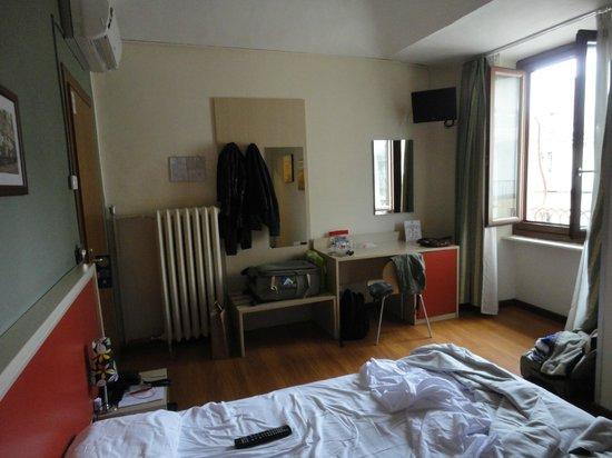 Hotel Dock Milano: Mucho espacio