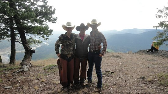 Three Bars Guest Ranch: Wranglers Wacey, Lou and Taylor