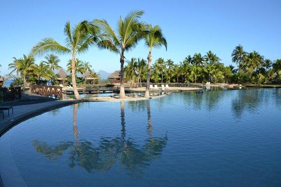 InterContinental Tahiti Resort & Spa : Piscine et lagonanrium