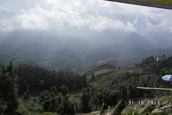 Sapa Eden Hotel : view from my room no.307