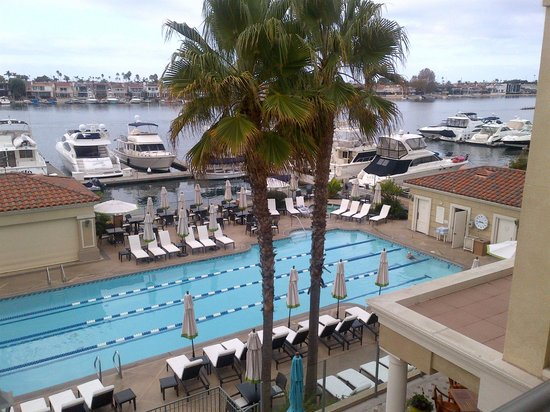 Balboa Bay Resort: View from the room