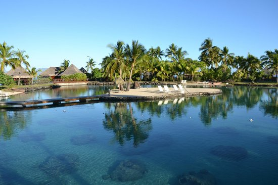 InterContinental Tahiti Resort & Spa : Piscine et laogonarium