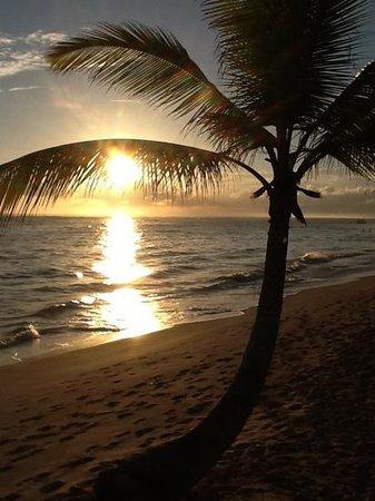 Luxury Bahia Principe Ambar Blue: Sunrise on the Ambar beach