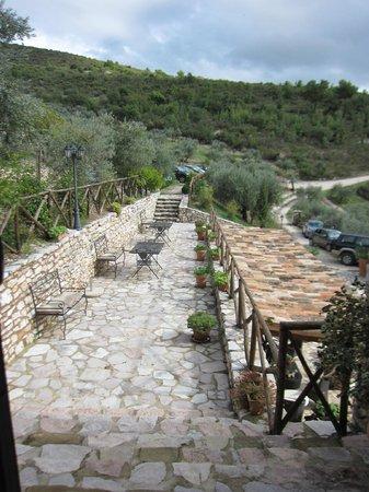 Agriturismo il Bastione: terrace
