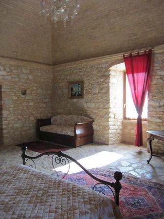 Agriturismo il Bastione: Nobliare room, daybed