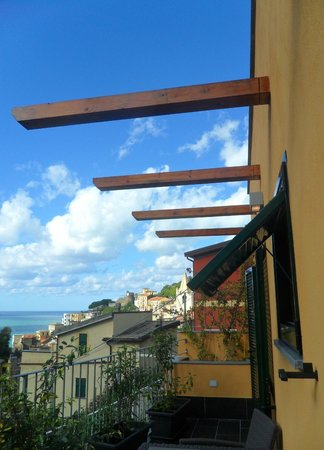 Locanda Ca da Iride: Our private terrace