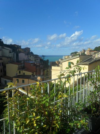 Locanda Ca da Iride: The view from our private terrace