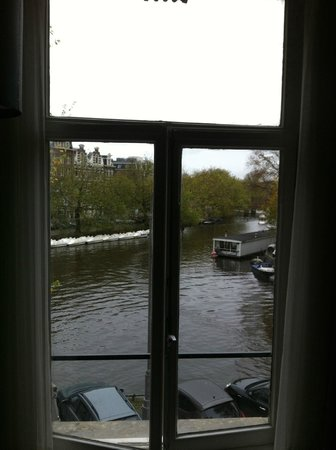 Boutique Hotel View: View from Room 104