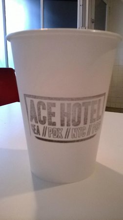 Ace Hotel: eco cups