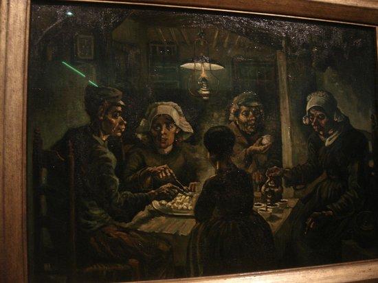 Comedores de patatas - Picture of Van Gogh Museum, Amsterdam ...