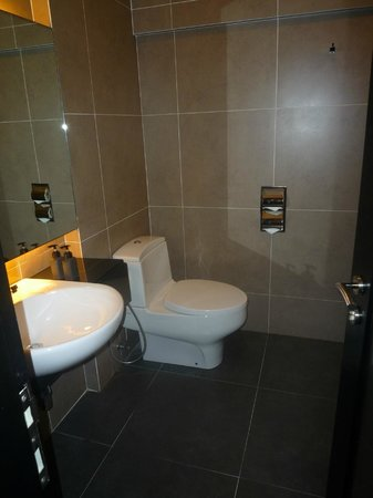 The Ranee Boutique Suites: Bathroom felt luxurious - well appointed