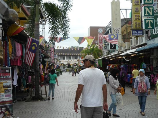 The Ranee Boutique Suites: One of the many shopping streets in Kuching