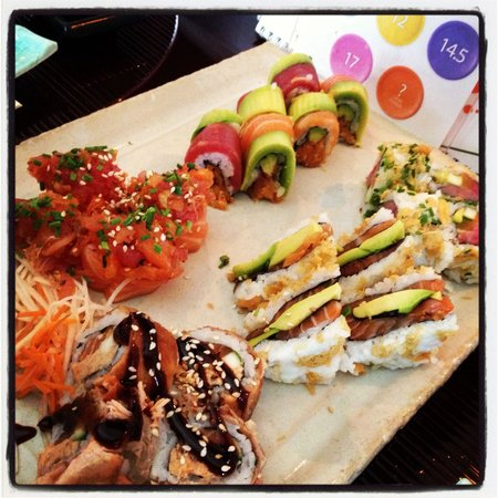 MOON : The best sushi