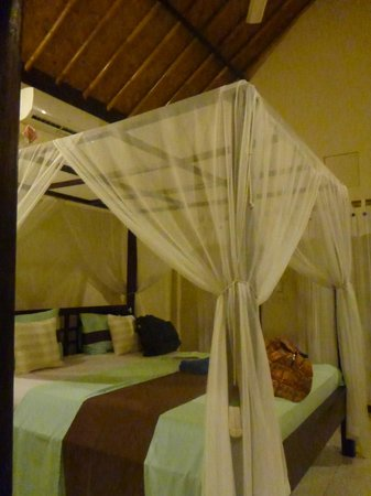 Solaluna Beach Homestay : Airconditioned and fan too