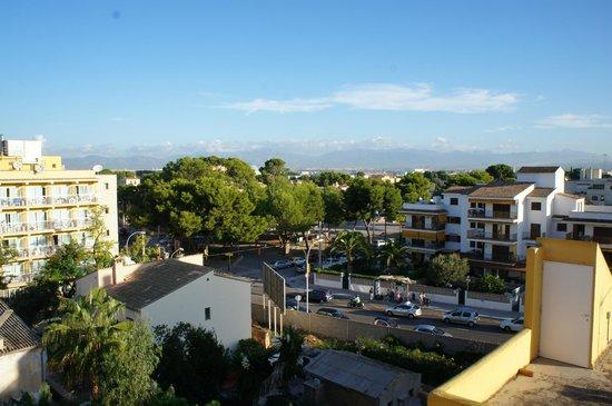 Hotel Can Pastilla: Вид с нашего балкона