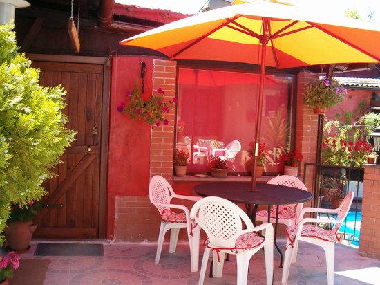La Veranda Fiorita : esterno veranda