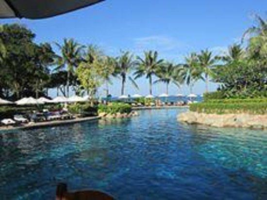 Hyatt Regency Hua Hin: Pool-Sea View