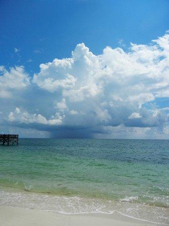 Key Colony Beach Motel : Unwetter blieben immer weit draußen, spannend anzusehen