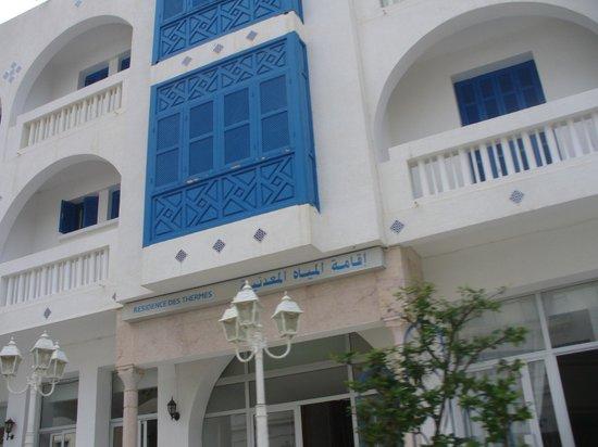 Korbous, Túnez: Un albergo.