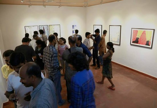 Buddha Gallery : Inaugural crowd