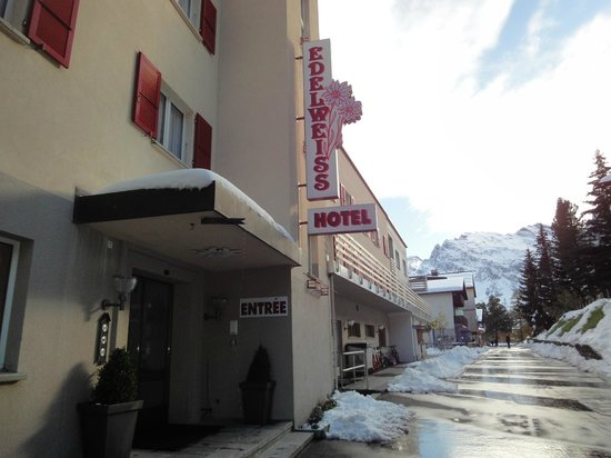Hotel Edelweiss : Just outside