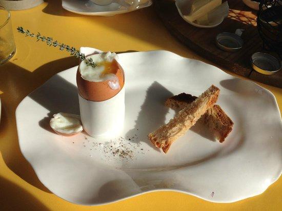 Mas de l'Amarine: Breakfast