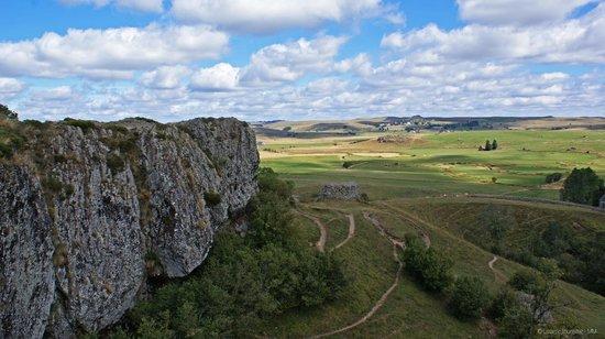 Lozere, Frankrike: Région naturelle de l'Aubrac