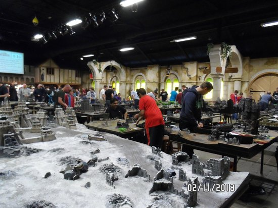 Games Workshop Warhammer World: the massive war gaming hall