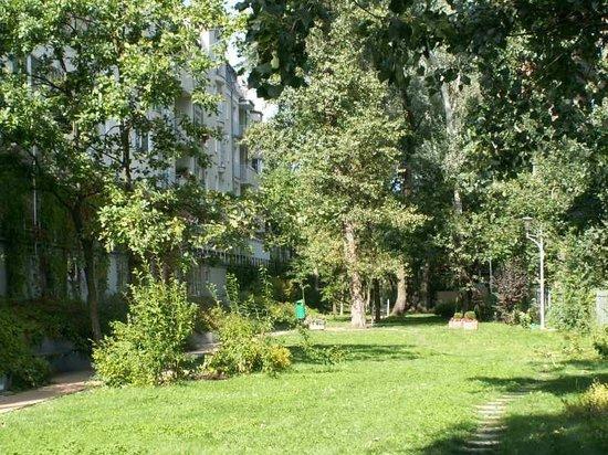 Apartment Hotel Arche: ogródek