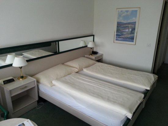 Hotel Postillon: Doppelbett??