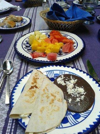 Hotel Boutique De La Parra: Parte del desayuno. Aparte hay buffet libre con un montón de opciones