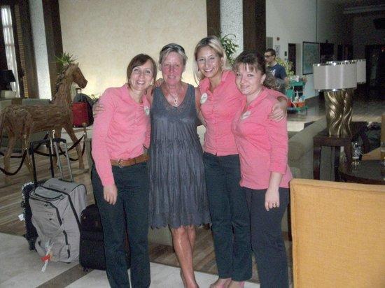 Otium Eco Club Side : nos amies smile service