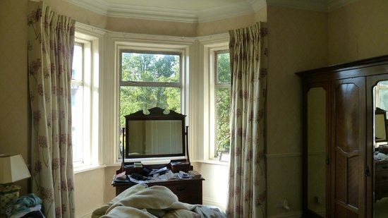 Oaklodge Bed & Breakfast: vue de la chambre