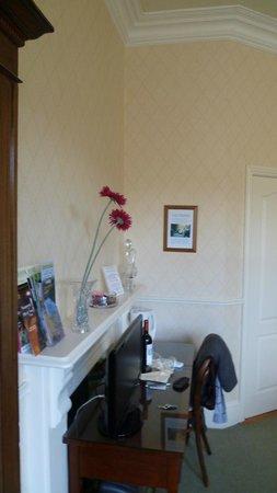 Oaklodge Bed & Breakfast: vue de la chambre