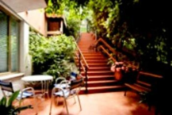 Hotel Amica: giardino