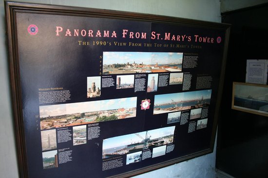 Birkenhead Priory: Panorama