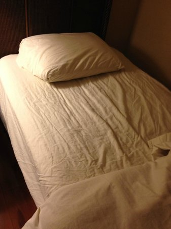 The Enclave Hotel & Suites: Supposedly clean bed