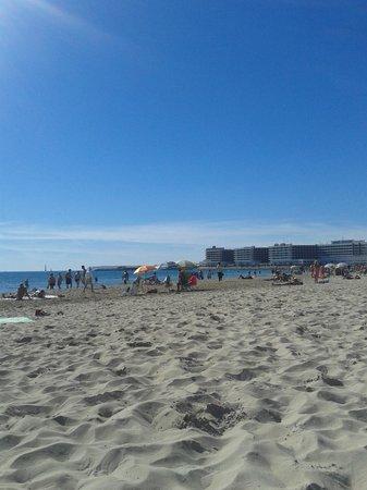 Hotel Maya Alicante: playa de Postiguet