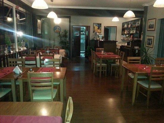 Cafe Melissa: inside restaurant