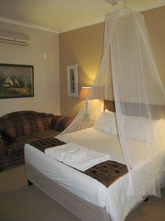Kwalala Lodge: Hier schläft man tief